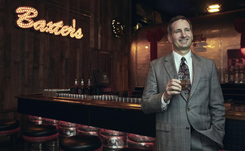 Bruce Corwin of the Bourbon Brotherhood by Louis Tinsley
