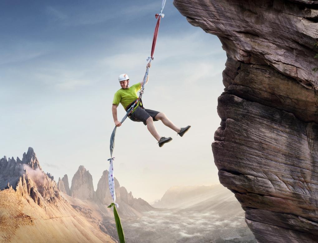 """""""Wrong Tools"""" - Climber by John Fulton"""