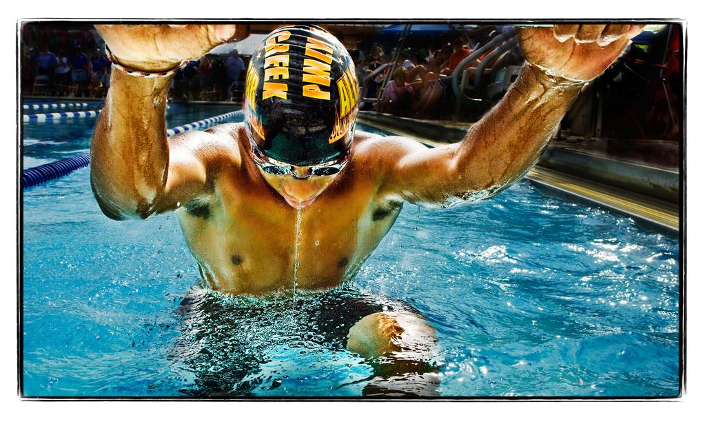 Backstroke by Cliff Lawson