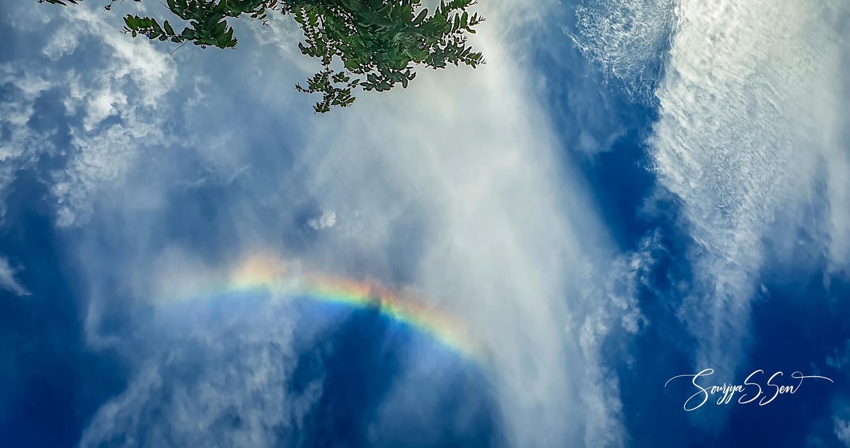 Sudden Rainbow by Sourjya Sankar Sen