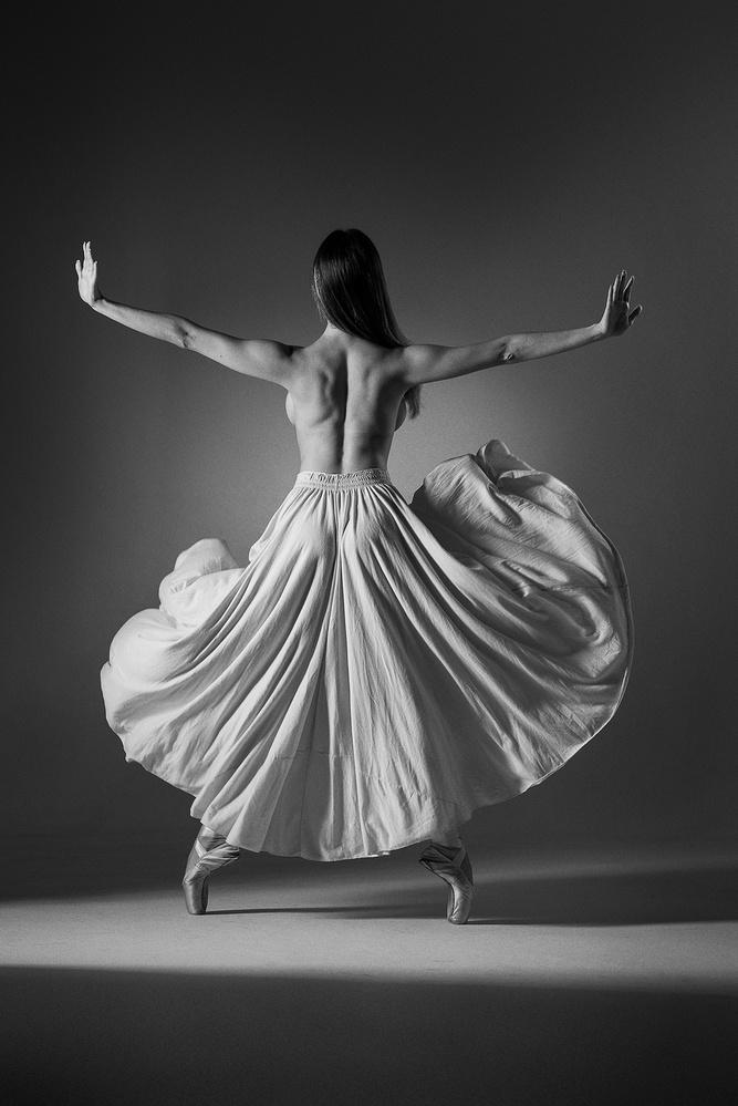 Back Ballerina  by Dodô Villar