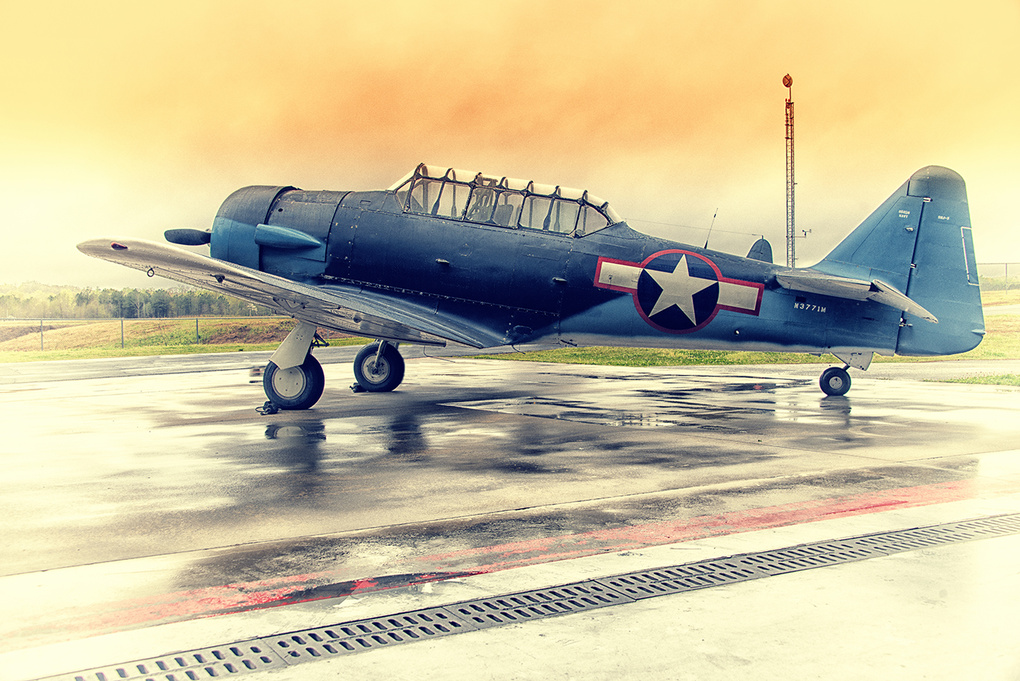 Douglas SBD-5  by Atom Photography