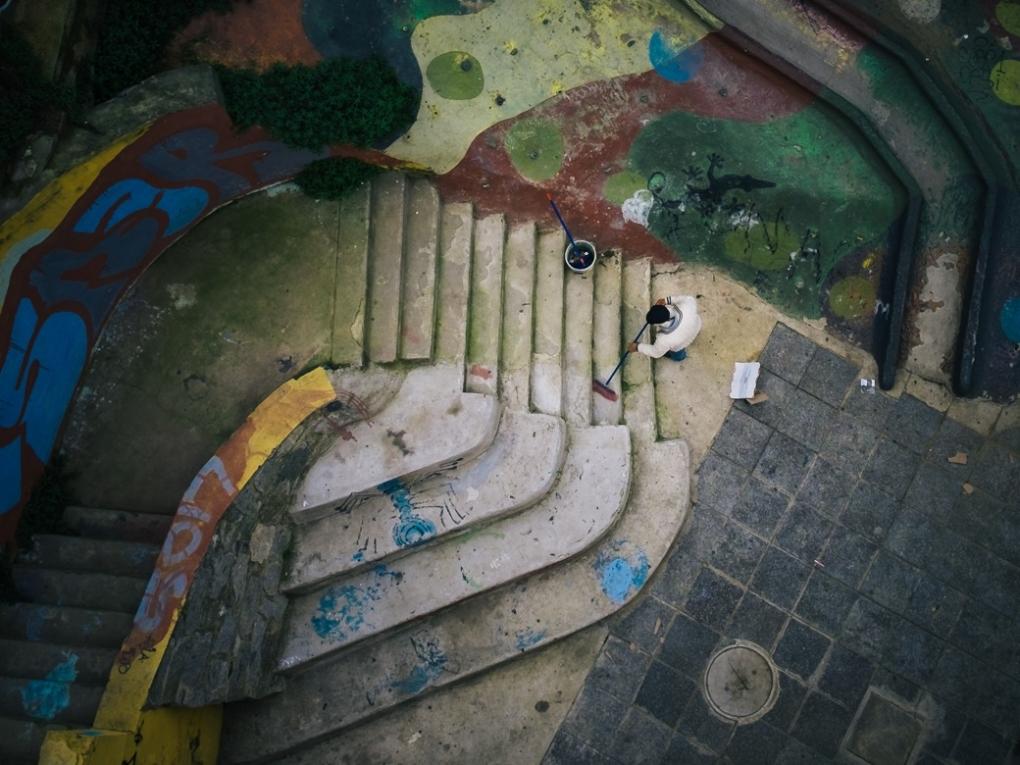 Urban Painting by Alejandro Schott