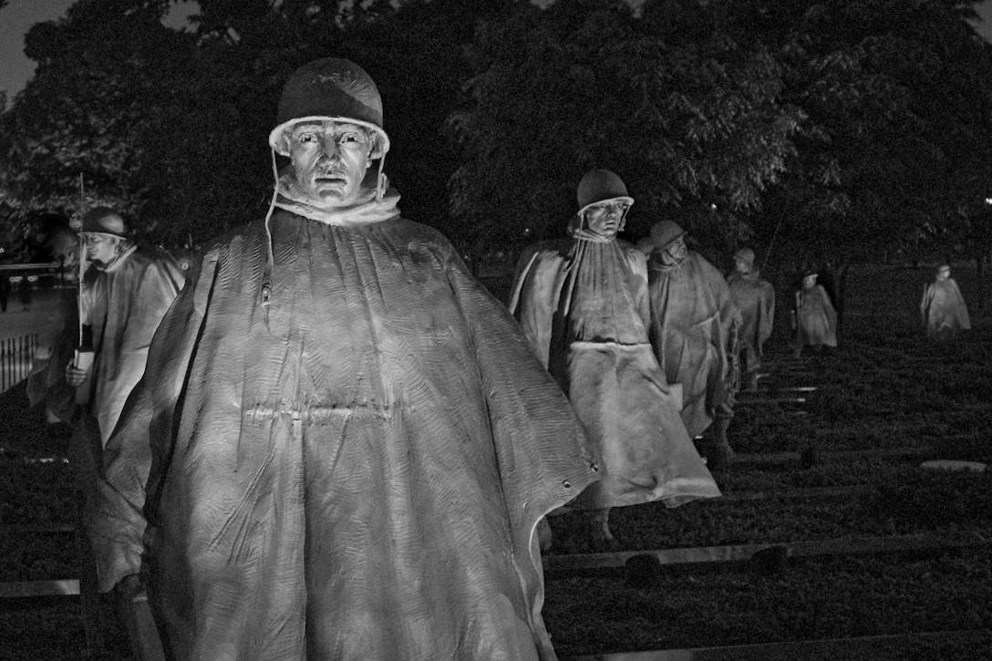 Korean War Memorial by David Birozy