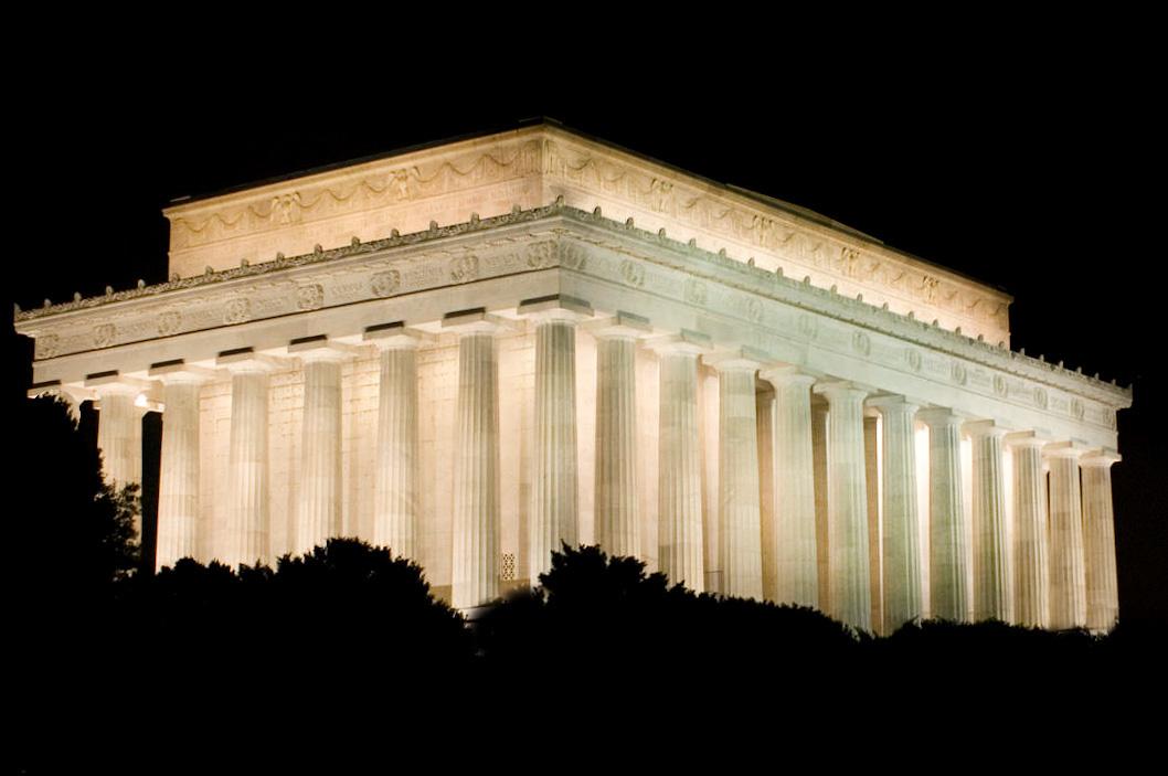 Lincoln Memorial by David Birozy