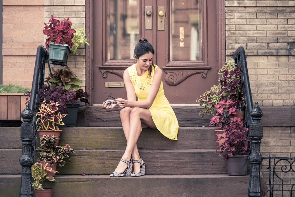 Yellow Dress by Eduardo Cavasotti