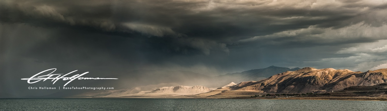 Pyramid Lake, Nevada by Chris Holloman