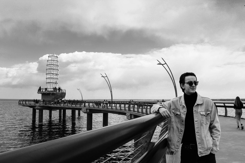 Tyler at the Pier by Natalia Sadowski