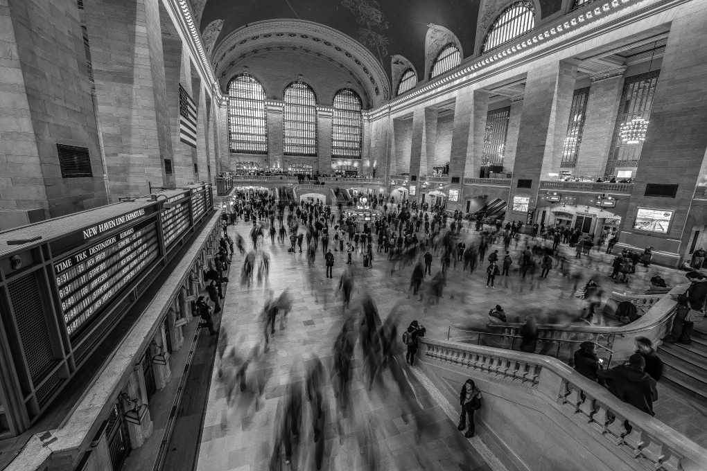 Grand Central river  by Taylor Griffith