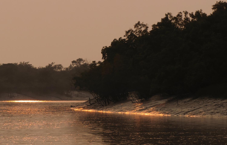 Burning shores by Sayan Dutta Bar