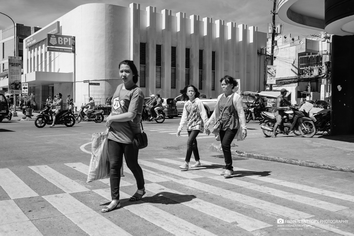 Downtown Dumaguete by Chris Davies