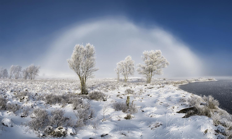 Rannoch Moor Fogbow by Sylvan Buckley