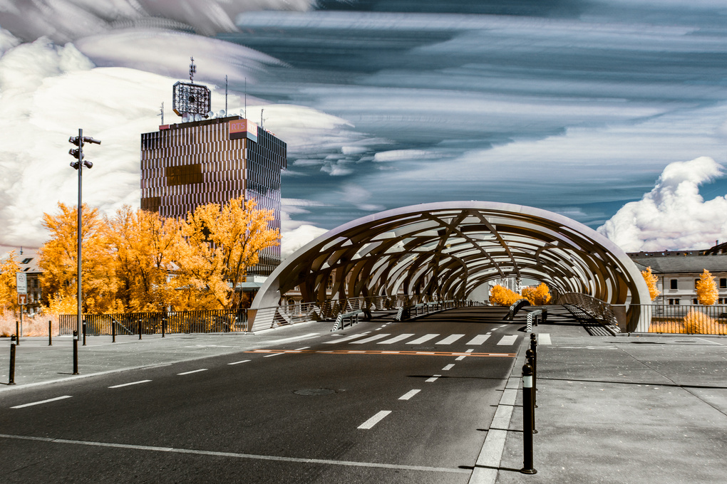 IR Timestacking by Alexandre Lachausse