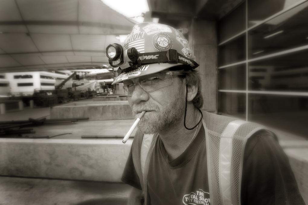 Smoke Break by Steve Gould