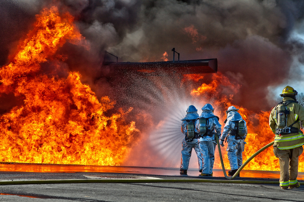 Conflagration by Steve Gould