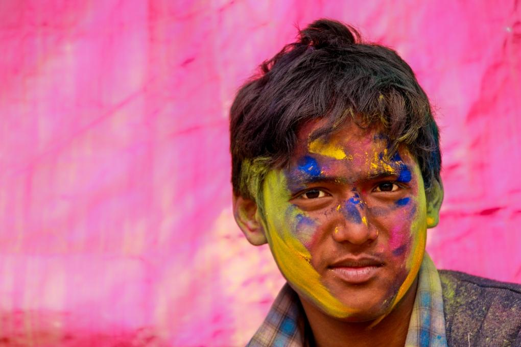 Holi Festival of Color by Brendan James