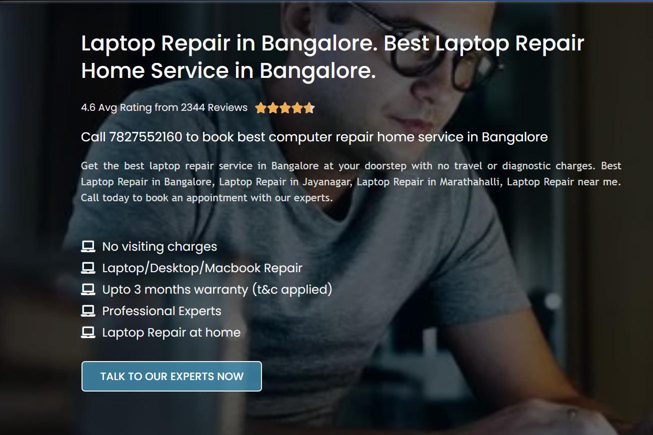best laptop repair service in Banglore by arju akram