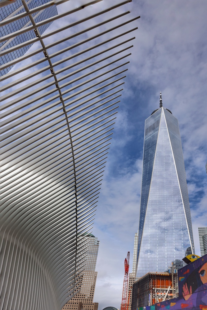One World Trade Center by Harry Morris