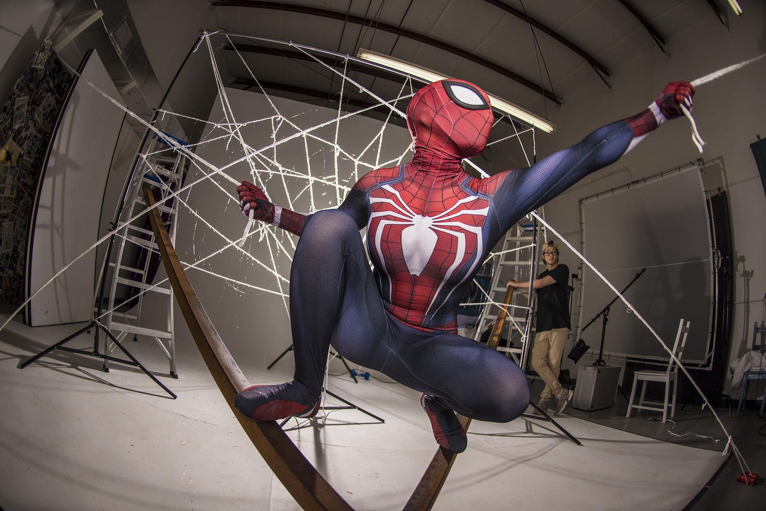 Spider-Man Cosplay BTS by Richard Johnson