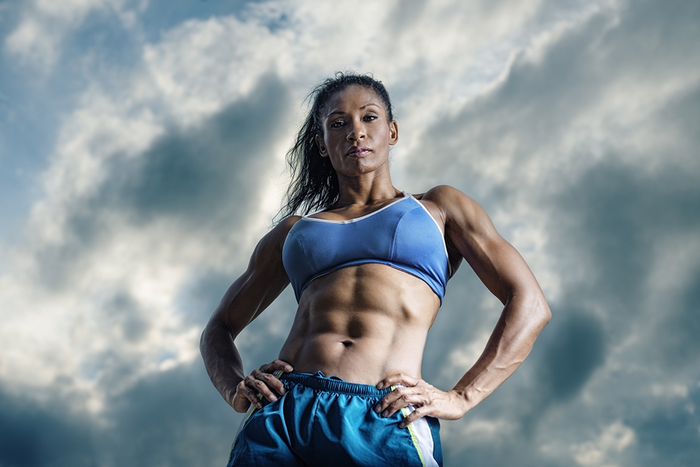 Fitness shoot by Richard Johnson