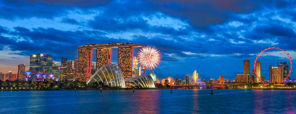 Singapore National Day by Eddy Wiriadinata