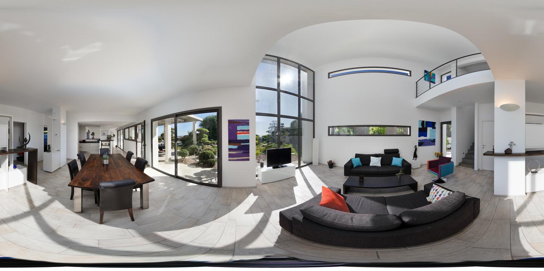 Côte d'Azur Modern Interior by Ben Whitmore