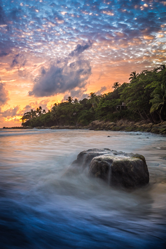 Andaman Sunset by Andy Luten