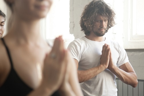 The best yoga instructor in Brussels by Rahul Gill