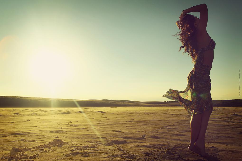 Beauty amongst the sands by Dexter Cohen