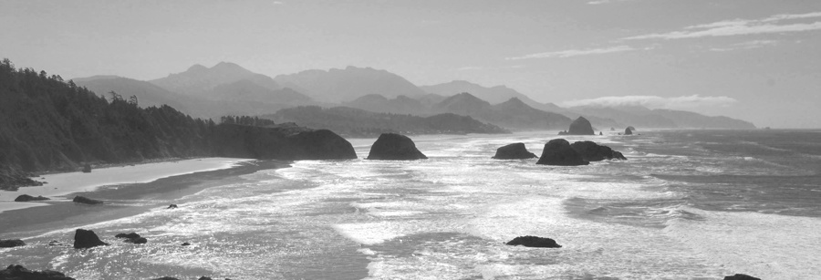 Cannon Beach ocean fron by Gregg Childs