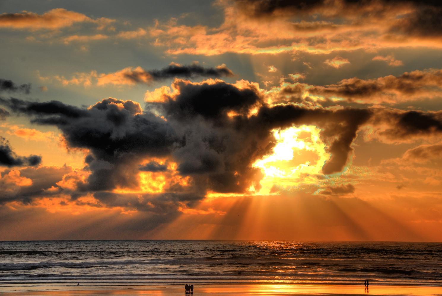 Ocean sunset1 by Gregg Childs