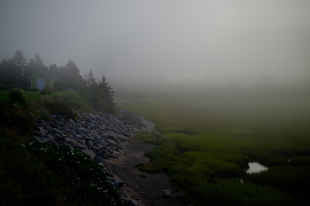 Kamouraska Fog by Jeff P.
