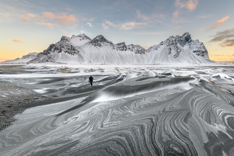 Sand- and snowstorm-zebras by Einar Gudmann