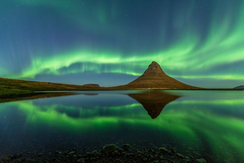 Saturday night at Kirkjufell by Einar Gudmann