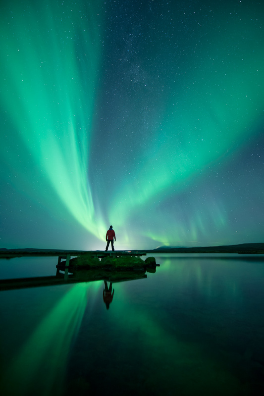 Angels dancing in the sky by Einar Gudmann