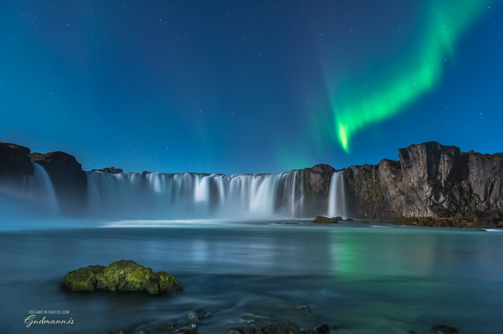The waterfall of the gods by Einar Gudmann