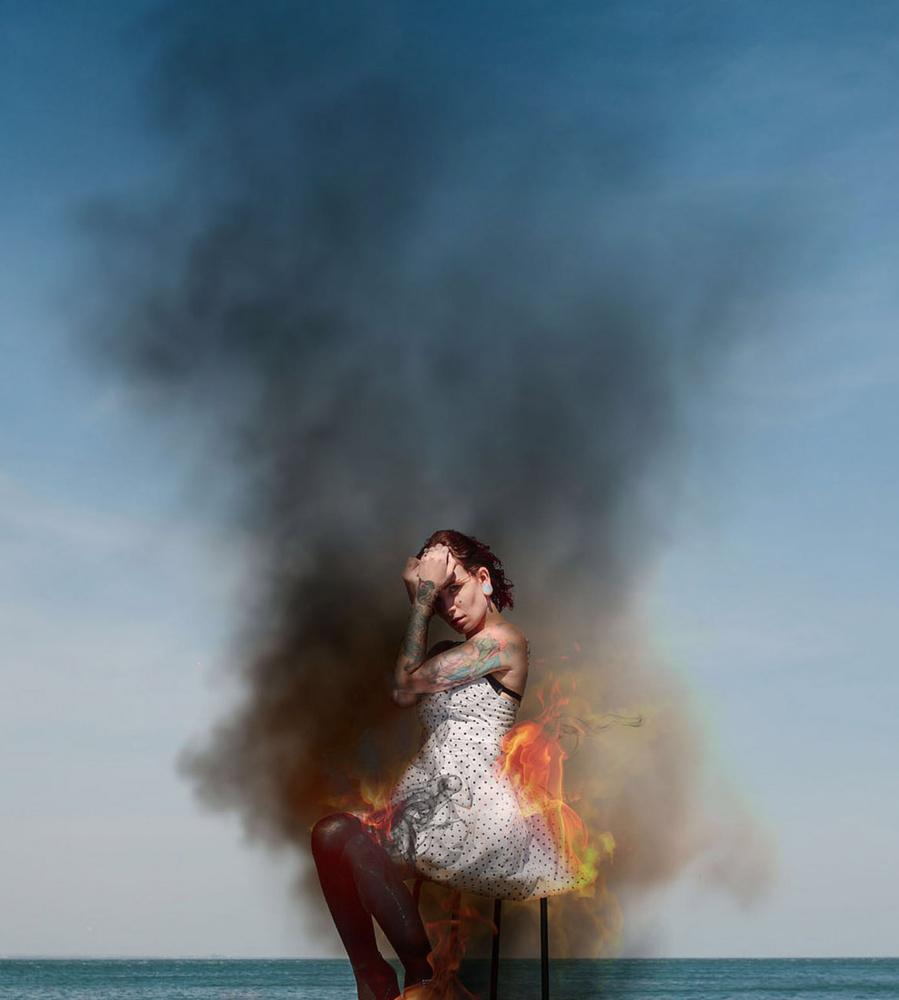 Girl on Fire by Ian Pettigrew