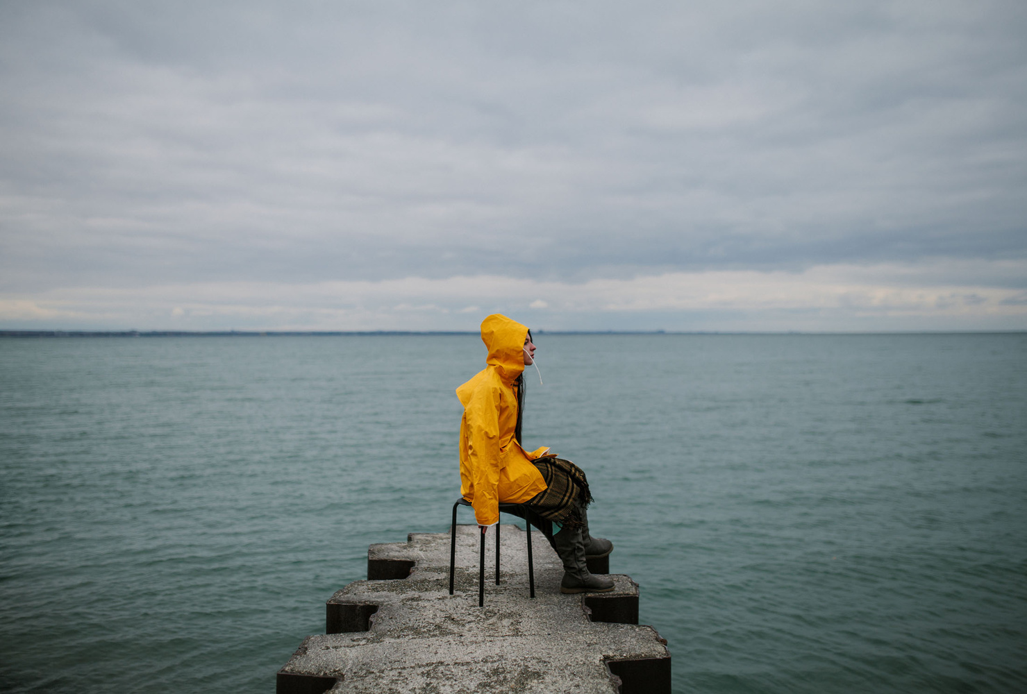 Little yellow Riding Hood by Ian Pettigrew