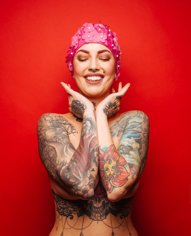 Pink Cap, 02 by Ian Pettigrew