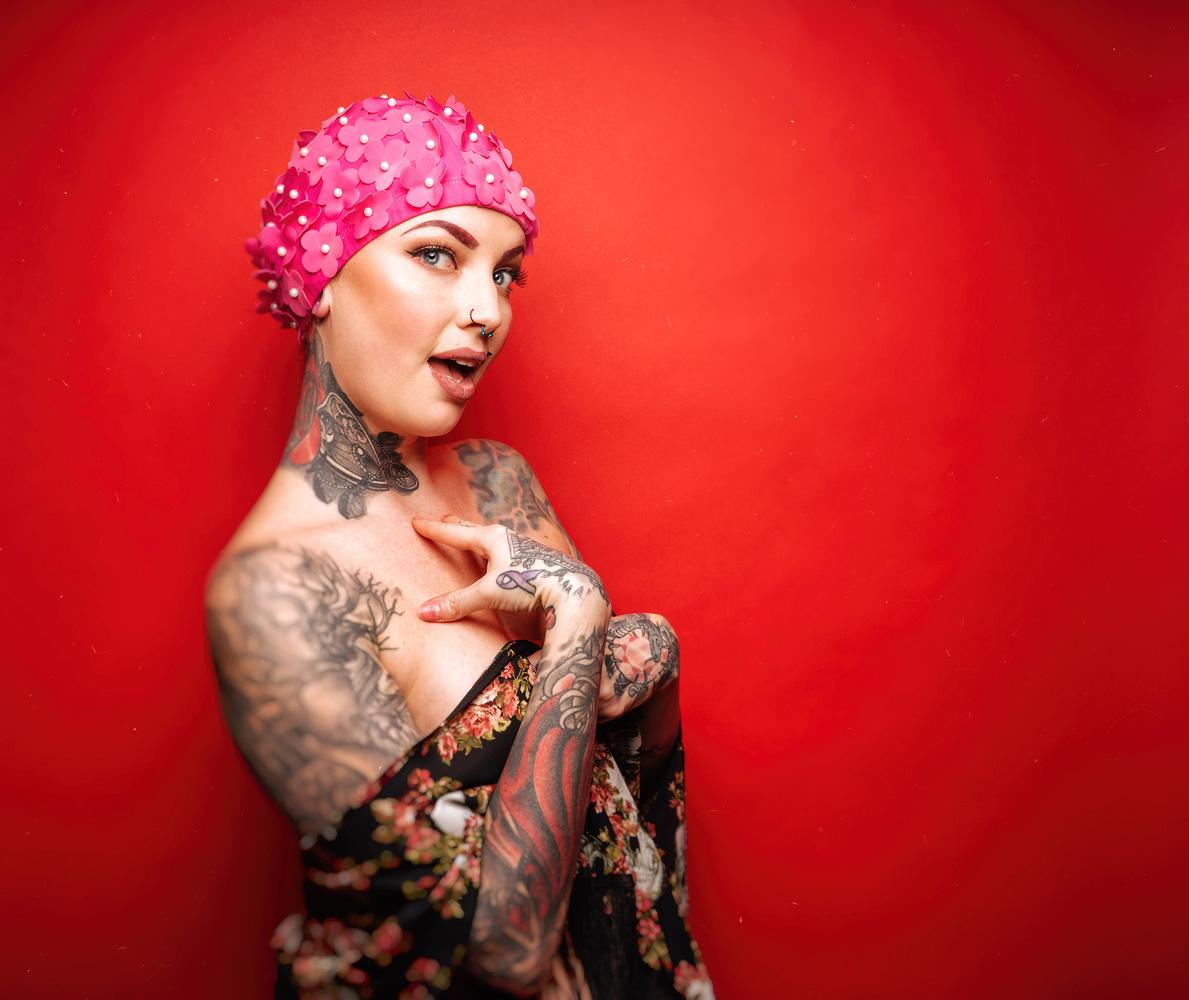 Pink Cap, 03 by Ian Pettigrew