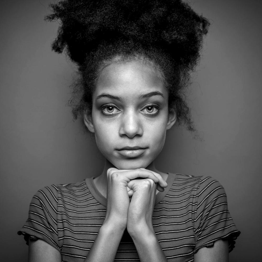 Jada, portrait by Ian Pettigrew