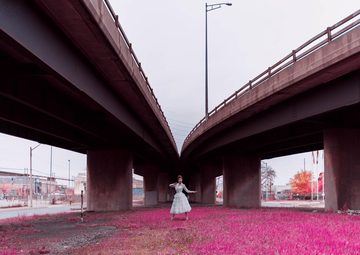 Dancer, bridge 01 by Ian Pettigrew