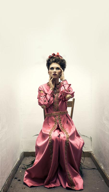 Pink Dress by Ian Pettigrew