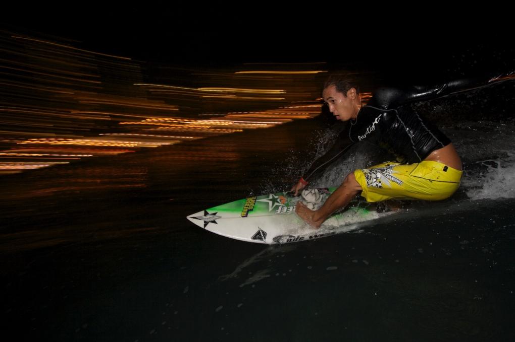 Waikiki Lights by Hawaii Portrait Photographer