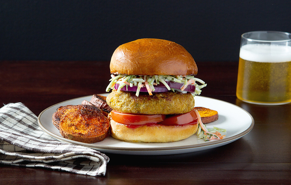 Chickpea Burger by Brandy Yowell
