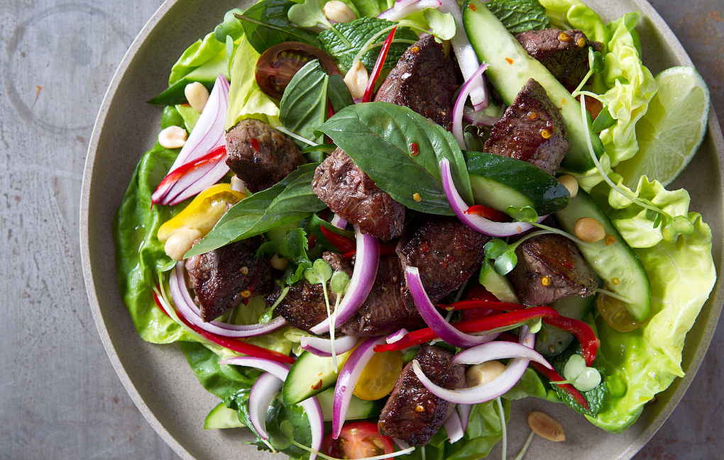 Thai Steak Salad by Brandy Yowell