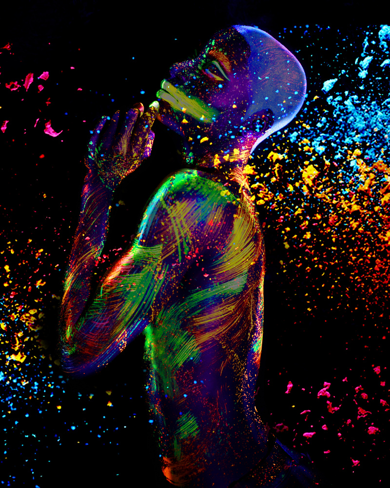Neon Nights by Aham Ibeleme