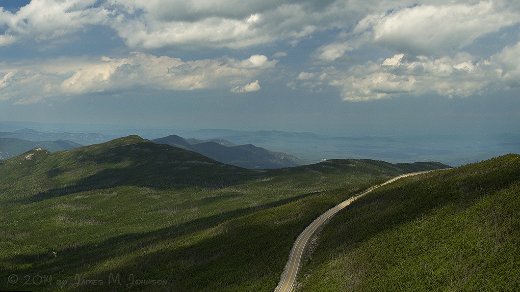 Memorial Highway at Whiteface Mountain by Jim Johnson