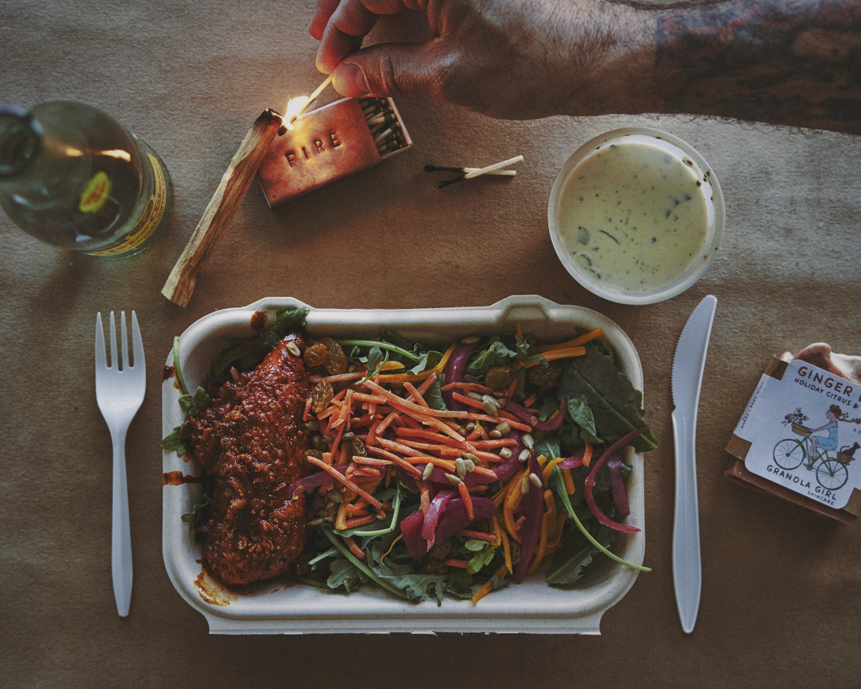 Curb to Table | Royal's Hot Chicken by Gary Barragan