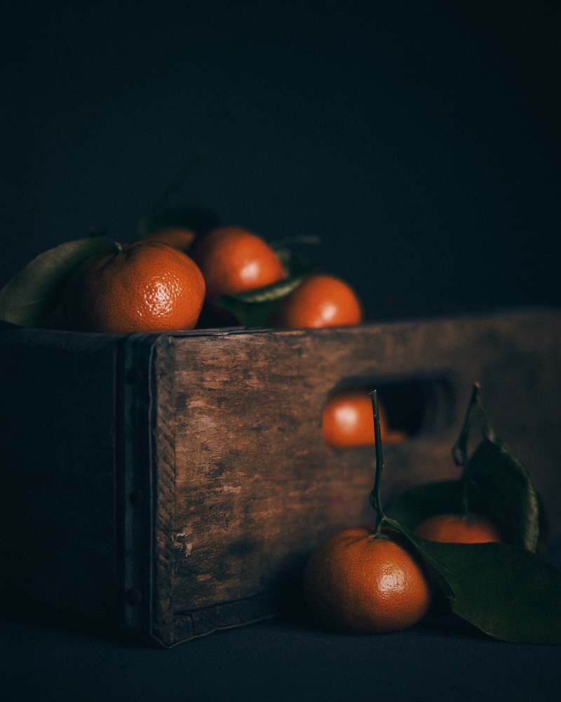 Tangerines by Gary Barragan